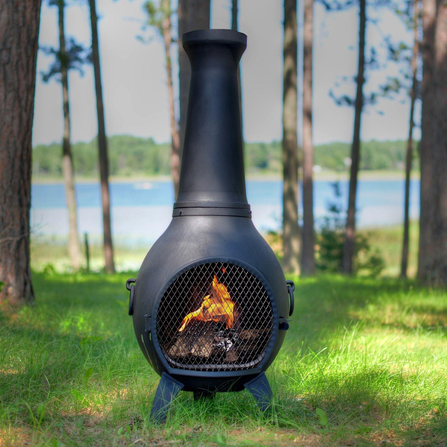 Portable Fire Pit With Chimney • Knobs Ideas Site
