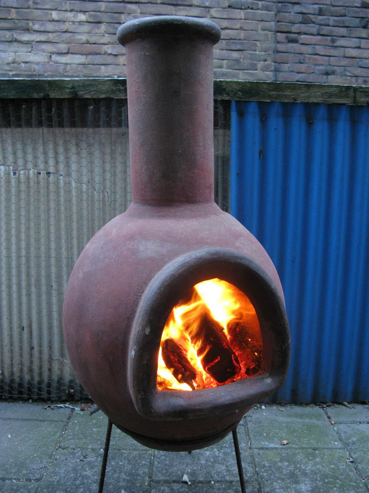 Terra Cotta Fire Pit Chimney Fire Pit In 2019 Chiminea Fire Pit with proportions 1200 X 1600