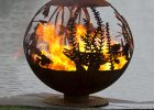 The Fire Pit Gallery 7010012 37f Red Lake Fish Custom Steel Fire Pit with regard to proportions 1400 X 1400