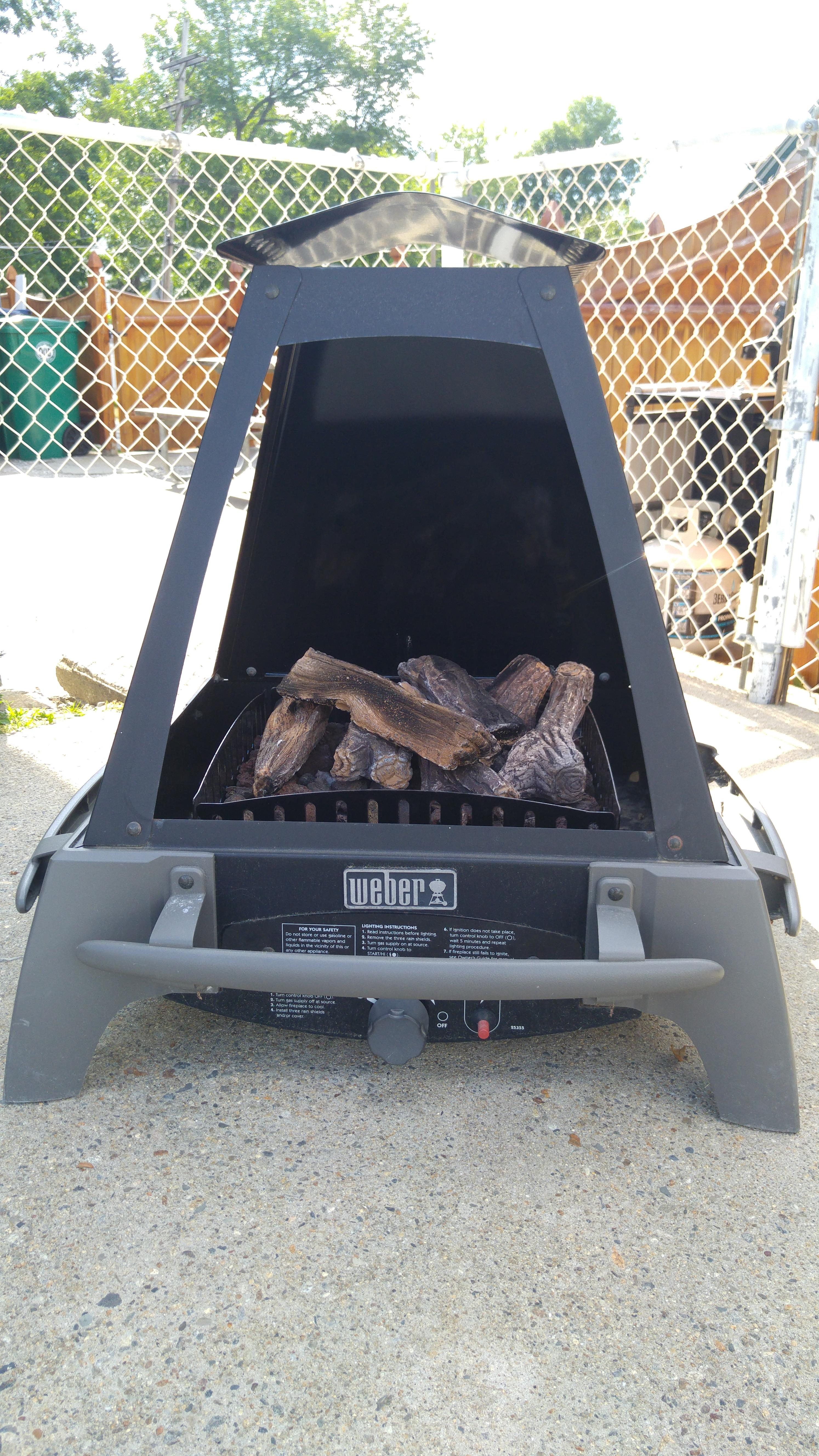 The Forgotten Weber Flame 27000 Fireplacefire Pit within measurements 2988 X 5312