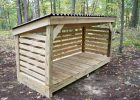 The Oscawana Single Wood Storage Firewood Storage Firewood Shed in measurements 3648 X 2736