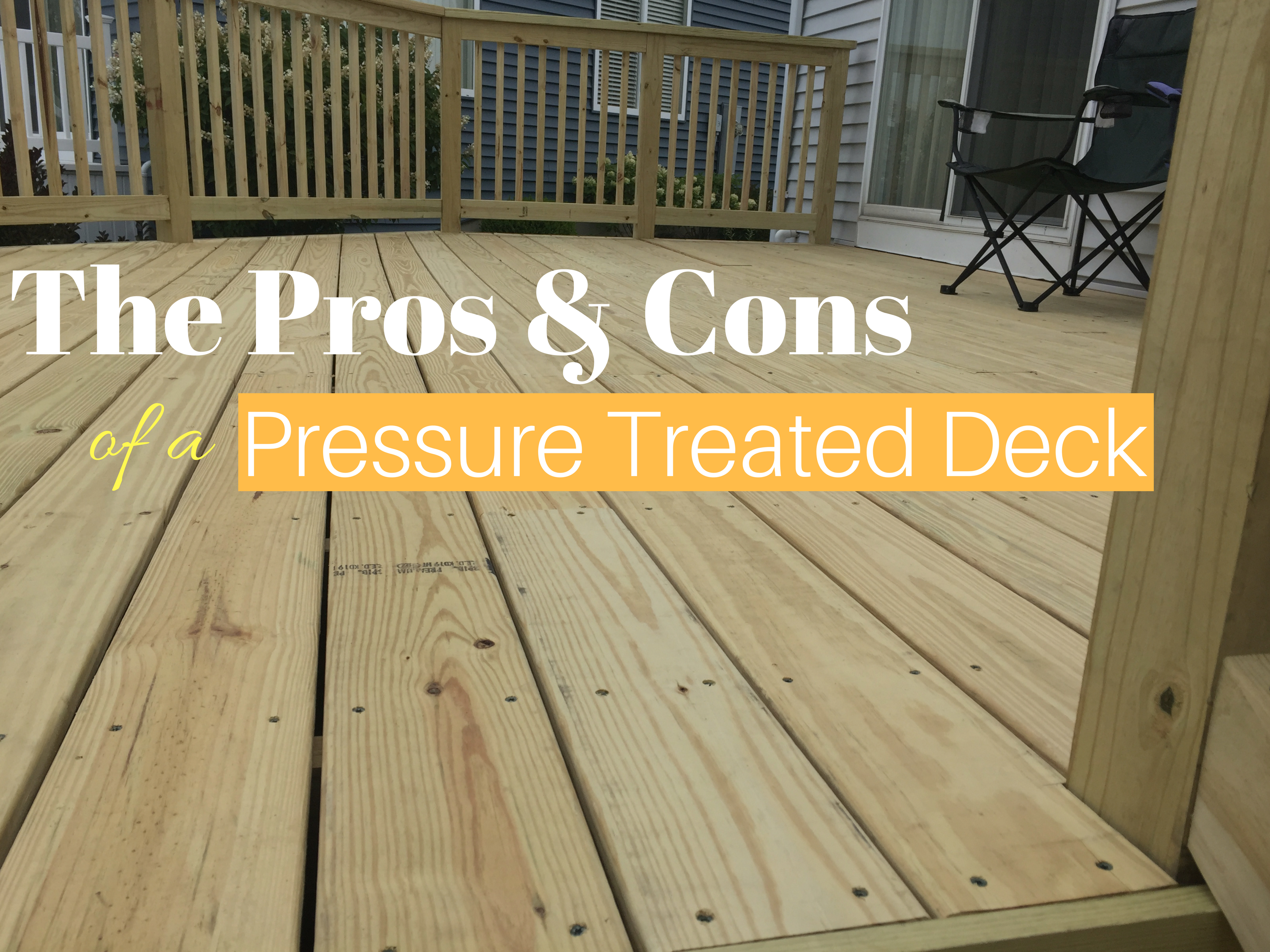 The Pros Cons Of A Pressure Treated Wood Deck General Contractor with regard to sizing 3200 X 2400