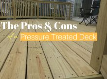 The Pros Cons Of A Pressure Treated Wood Deck General Contractor within size 3200 X 2400