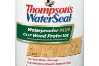 Thompsons Waterseal 5 Gal Waterproofer Plus Clear Wood Protector pertaining to measurements 1000 X 1000