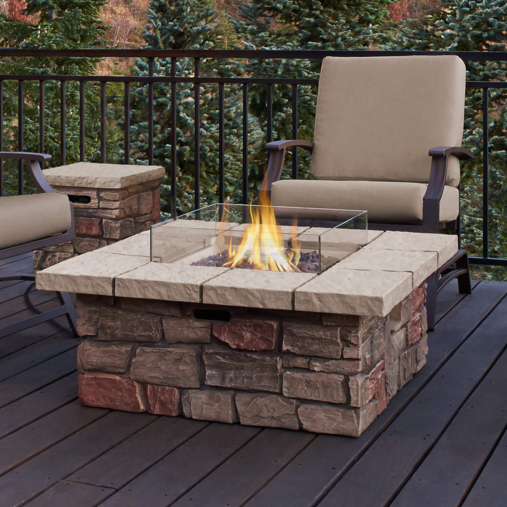 Top 15 Types Of Propane Patio Fire Pits With Table Buying Guide within dimensions 1648 X 1648