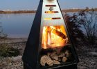 Tower Fire Pit Grill in sizing 1100 X 1100