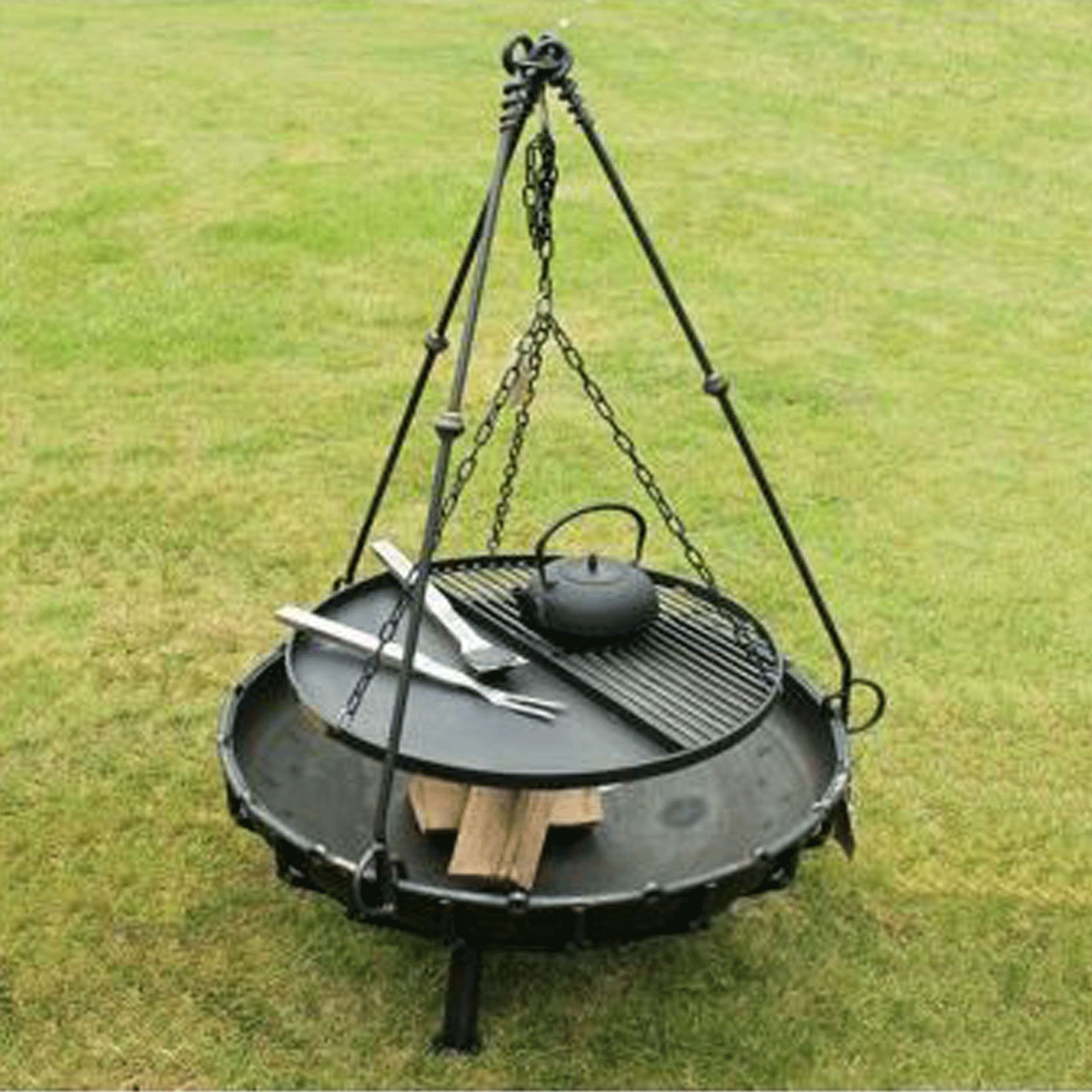 Tripod Cooking Rack Bbq Grills Smokers And Firepits Fire Pit inside proportions 2000 X 2000