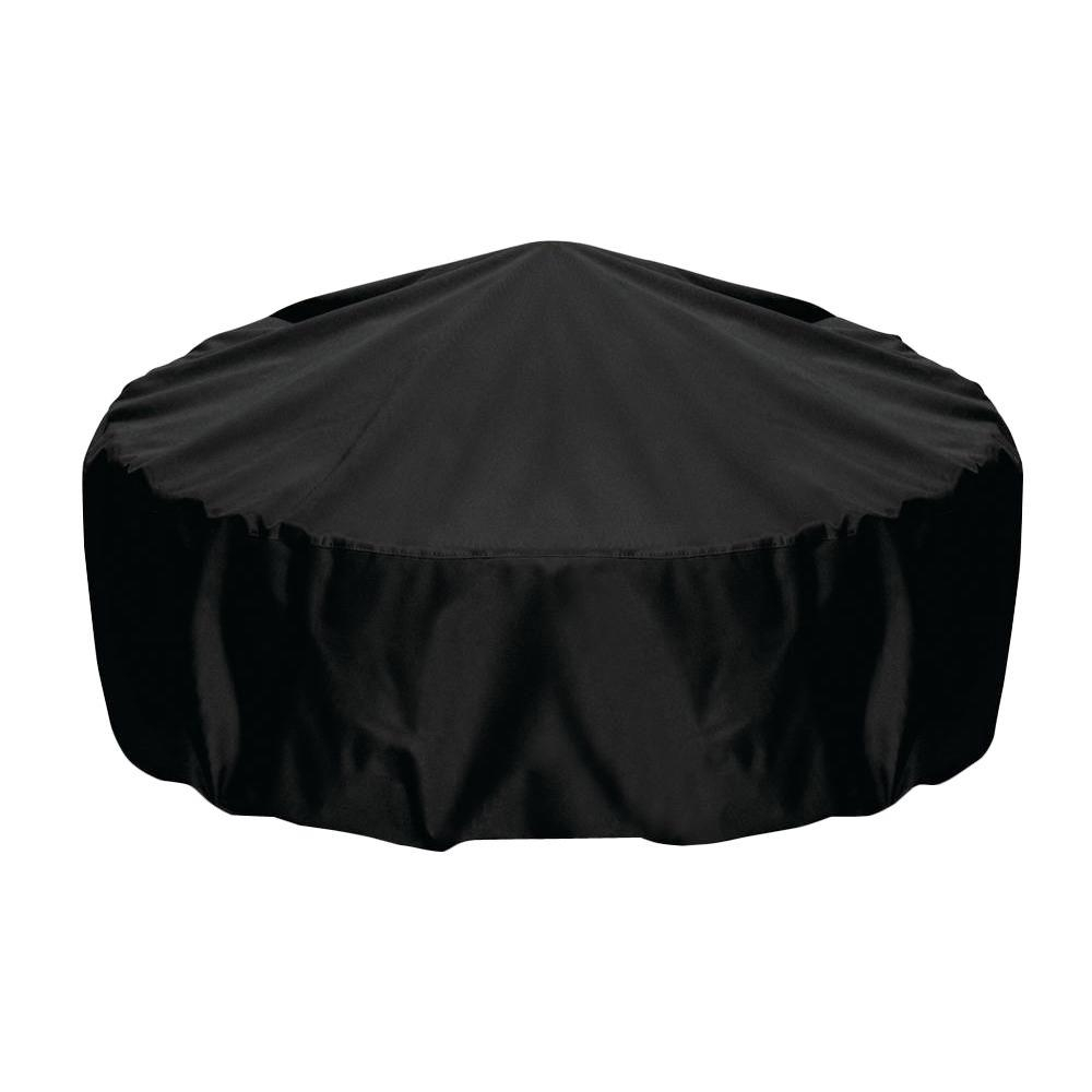 Two Dogs Designs 48 In Fire Pit Cover In Black 2d Fp48001 The with regard to measurements 1000 X 1000