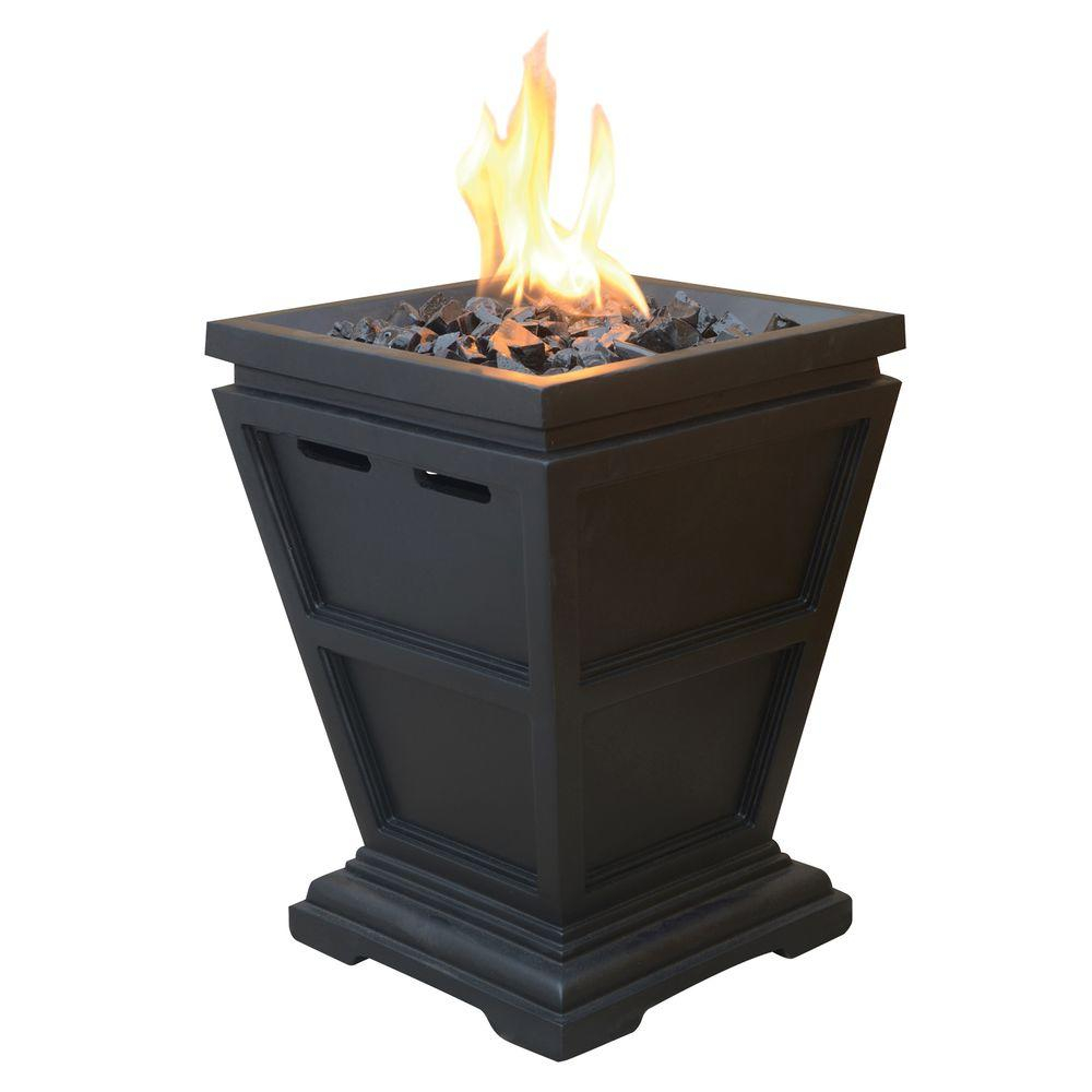 Uniflame Tabletop 105 In X 105 In Propane Gas Fire Pit Glt1343sp within size 1000 X 1000