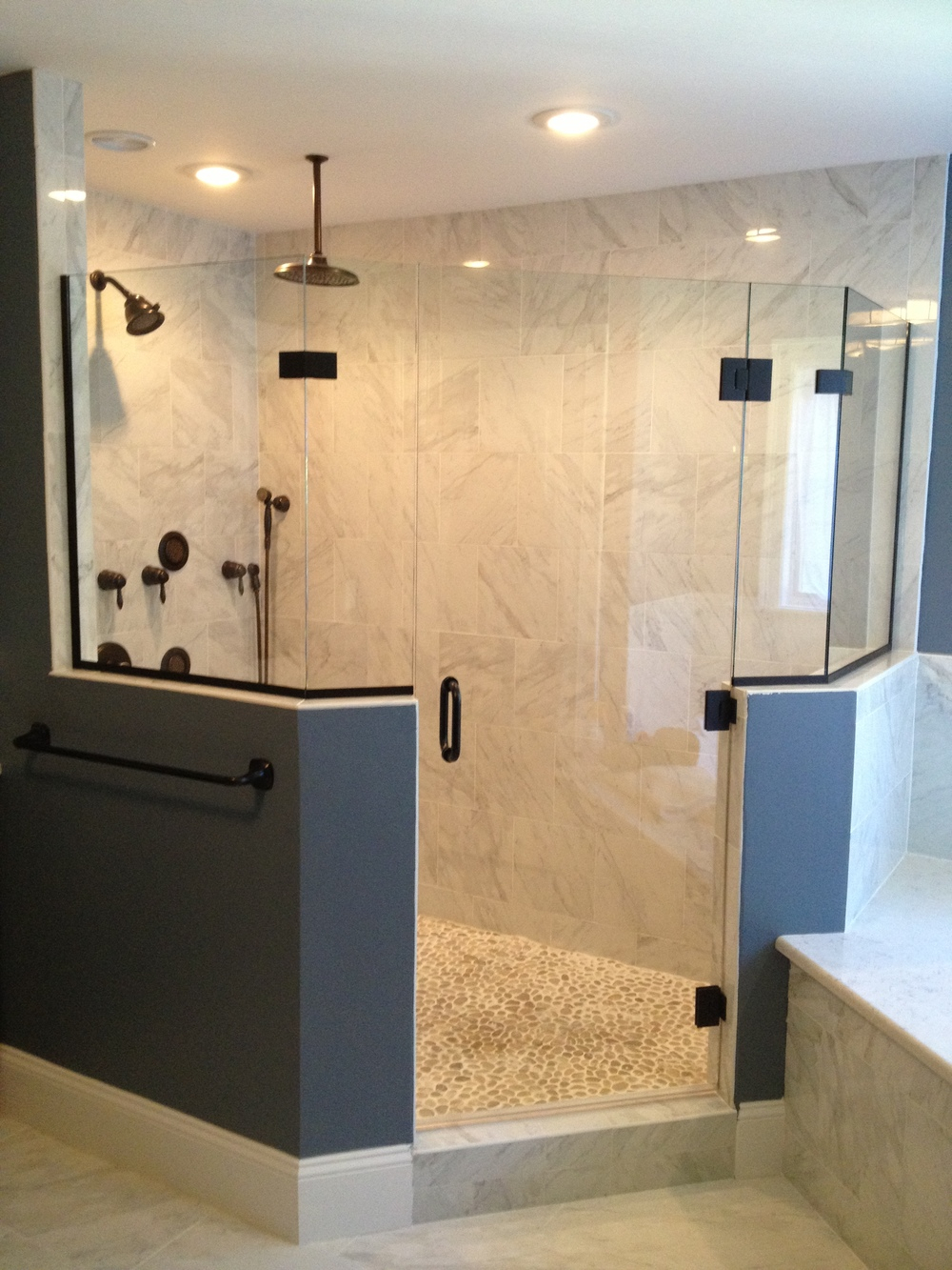 Unique Shower Door Custom Frameless Shower Doors In Franklin intended for sizing 1000 X 1333