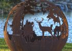 Up North Fire Pit Sphere The Fire Pit Gallery within dimensions 2710 X 4096