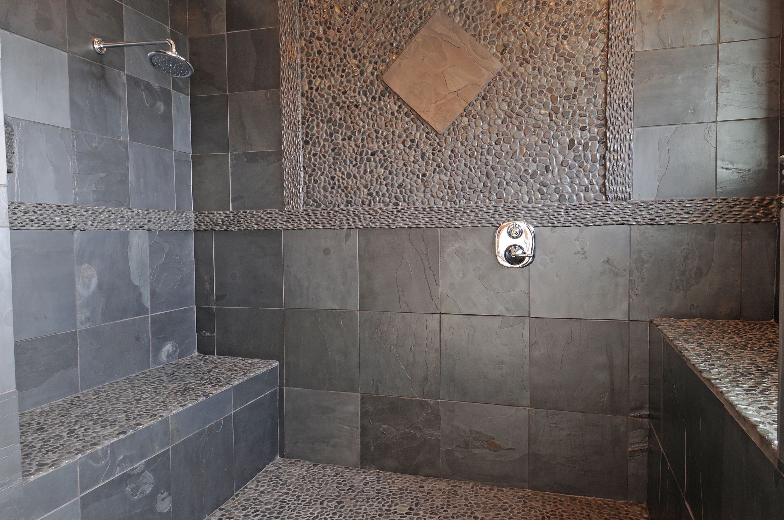 Using Natural Stone In Showers throughout dimensions 3000 X 1993