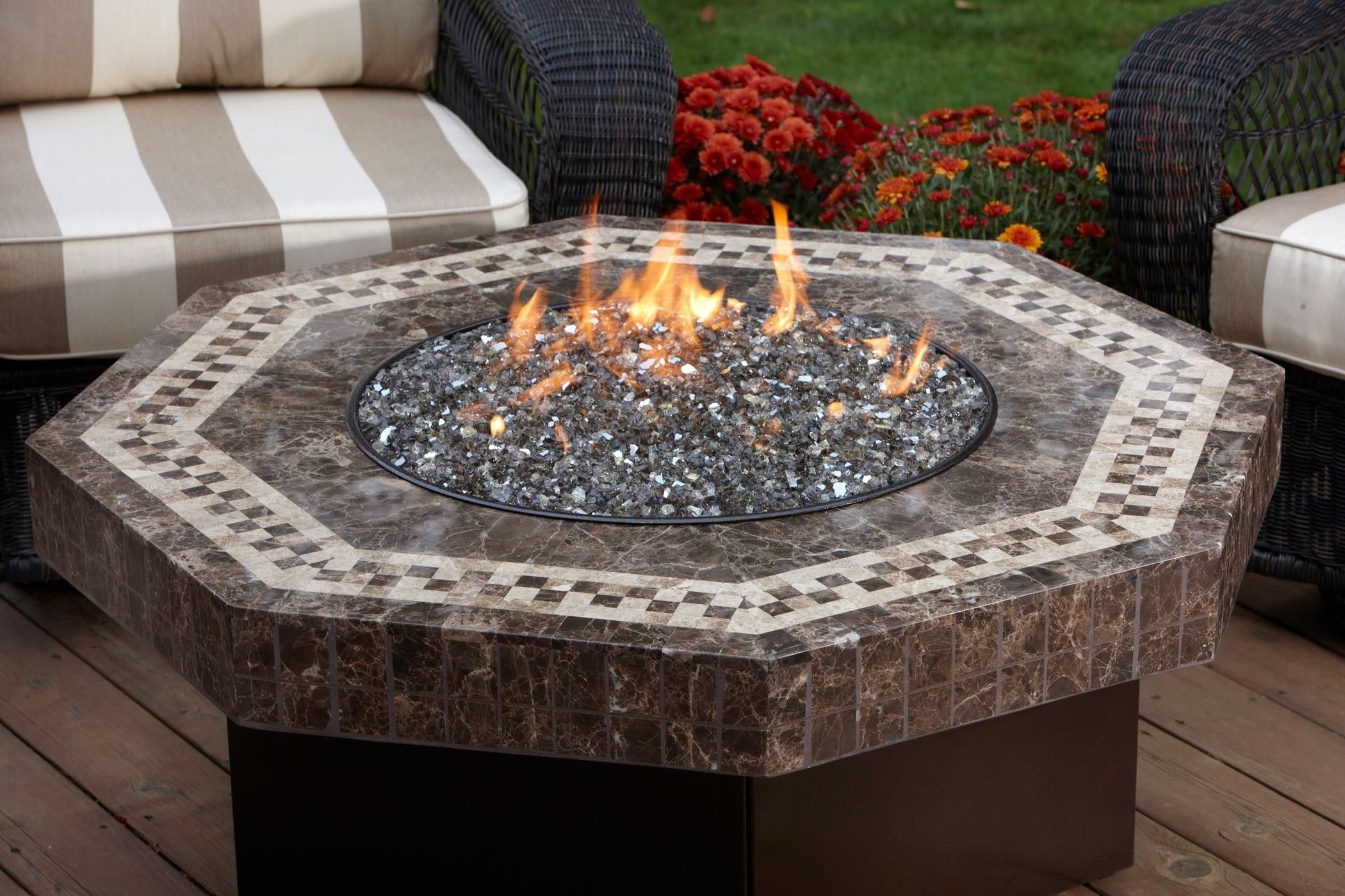 Venetian Marble Fire Table Gas Fire Pits All Backyard Fun intended for measurements 2100 X 1400