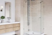 Vigo Verona 4025 In X 7675 In Frameless Neo Angle Shower Door In throughout measurements 1000 X 1000