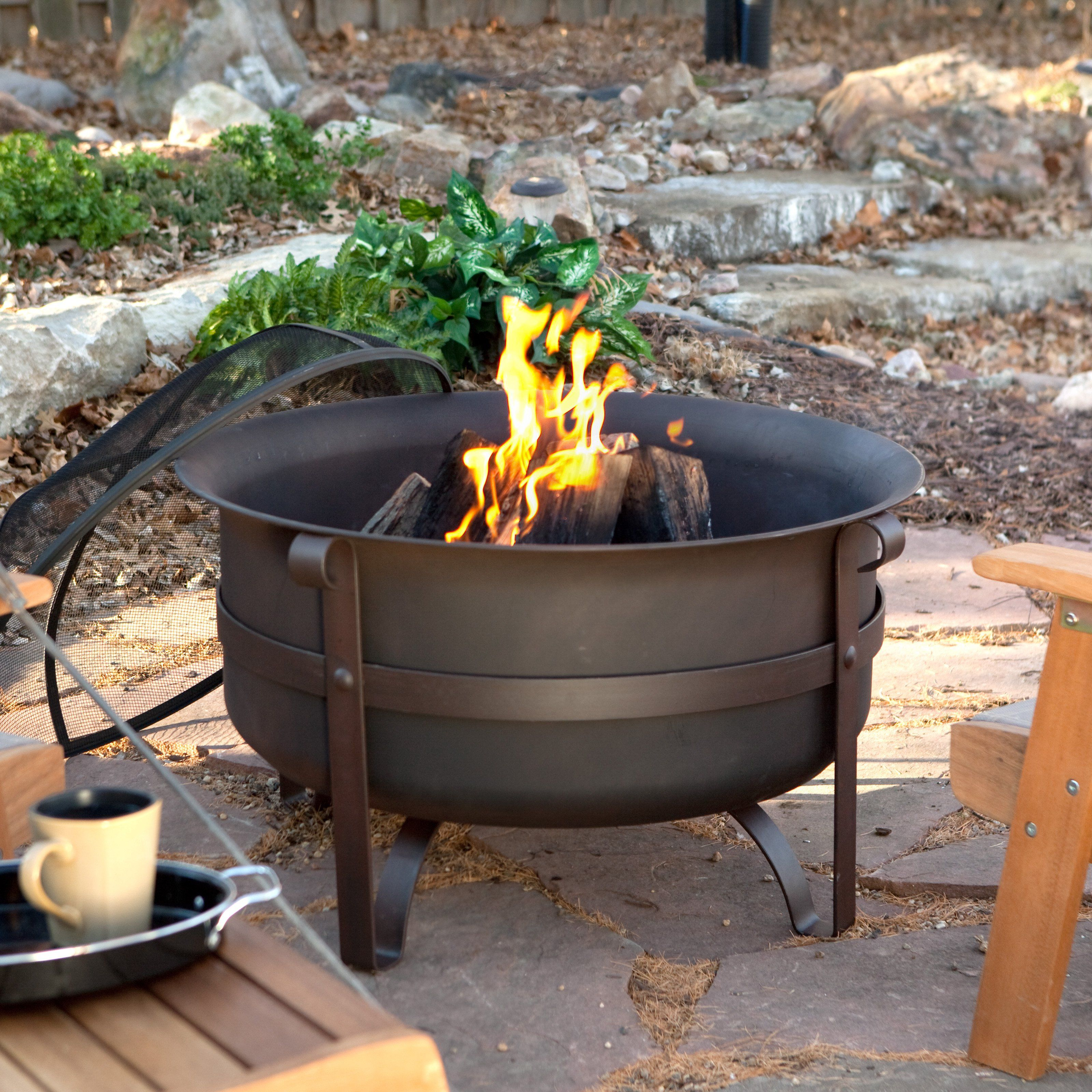We Are Re Landscaping Our Back Yard In 2018 And This Firepit Would pertaining to size 3200 X 3200