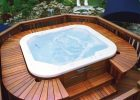Wood Deck Designs For Hot Tubs inside measurements 1024 X 796