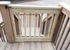 Wood Deck Gate Kit Decks Ideas regarding proportions 1024 X 768