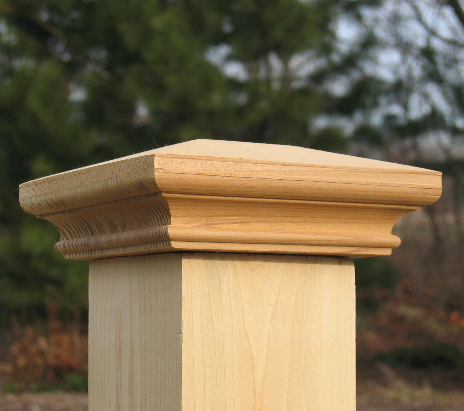 Wood Deck Post Toppers Decks Ideas in sizing 1866 X 1656