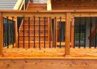 Wood Deck Railing Pics Decks Ideas inside size 3264 X 1840