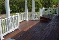 Wood Decks With Vinyl Railing House Design Inspirations within proportions 1024 X 768