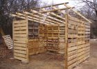 Wood Pallet Shed Project for measurements 1024 X 768