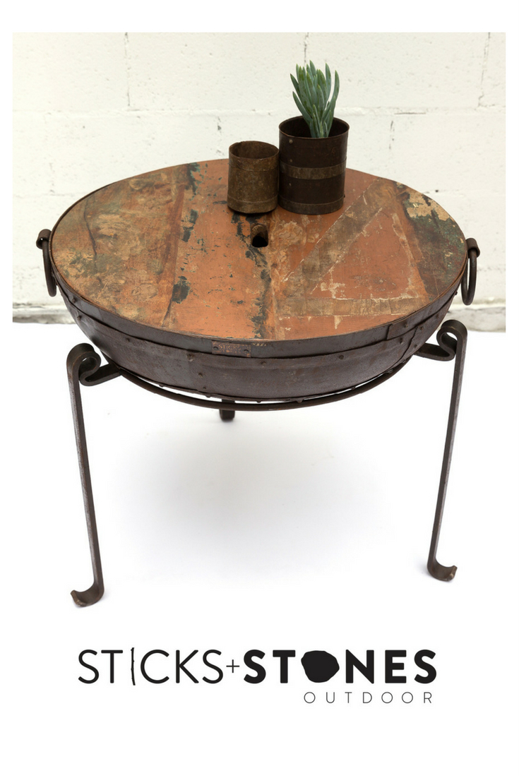 Wooden Top For Kadai Kadai Fire Pits And Cooking Utensils pertaining to measurements 735 X 1102